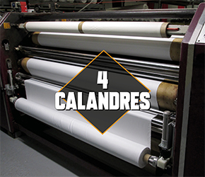 Calandre de sublimation